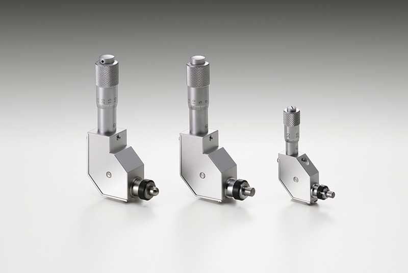 Right-Angle Micrometer Heads