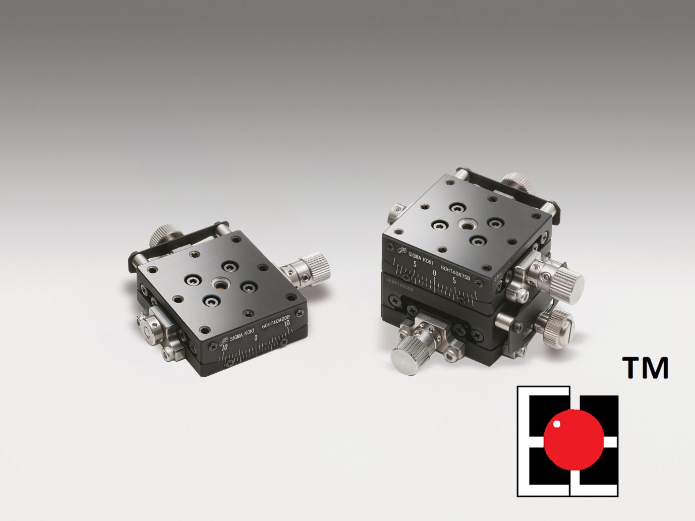 Steel EXC™ Precision-Bearing Lead Screw 1&2-Axis Goniometers