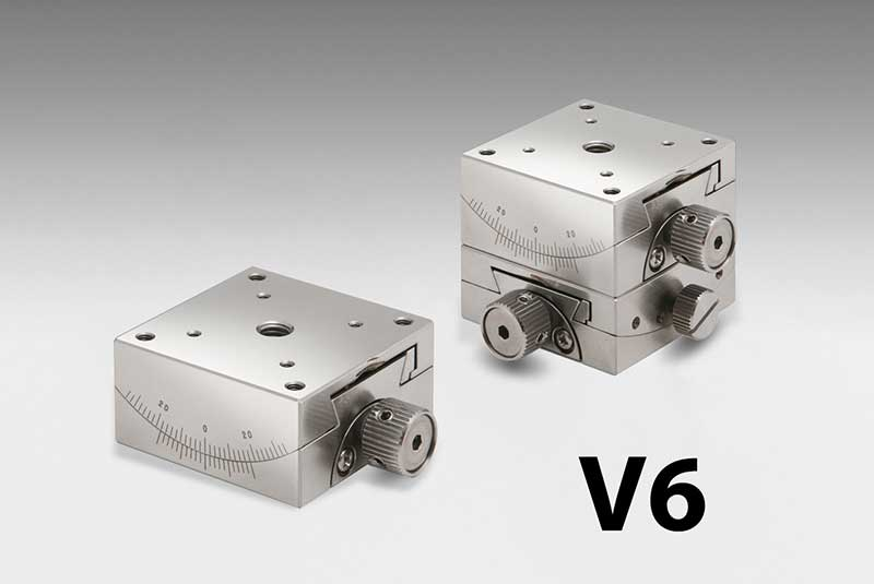Vacuum Compatible Stainless steel 1&2-Axis Goniometers