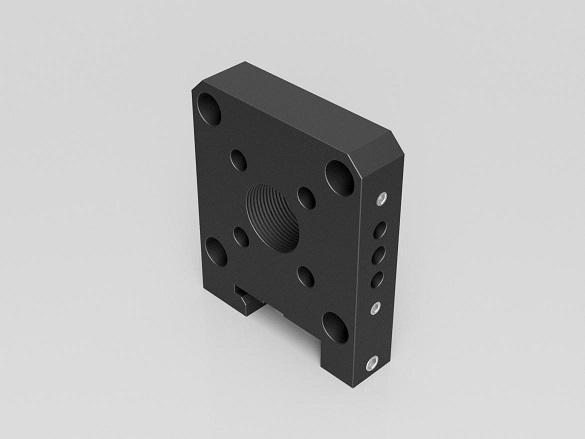 CageCore Rod Conversion Plate