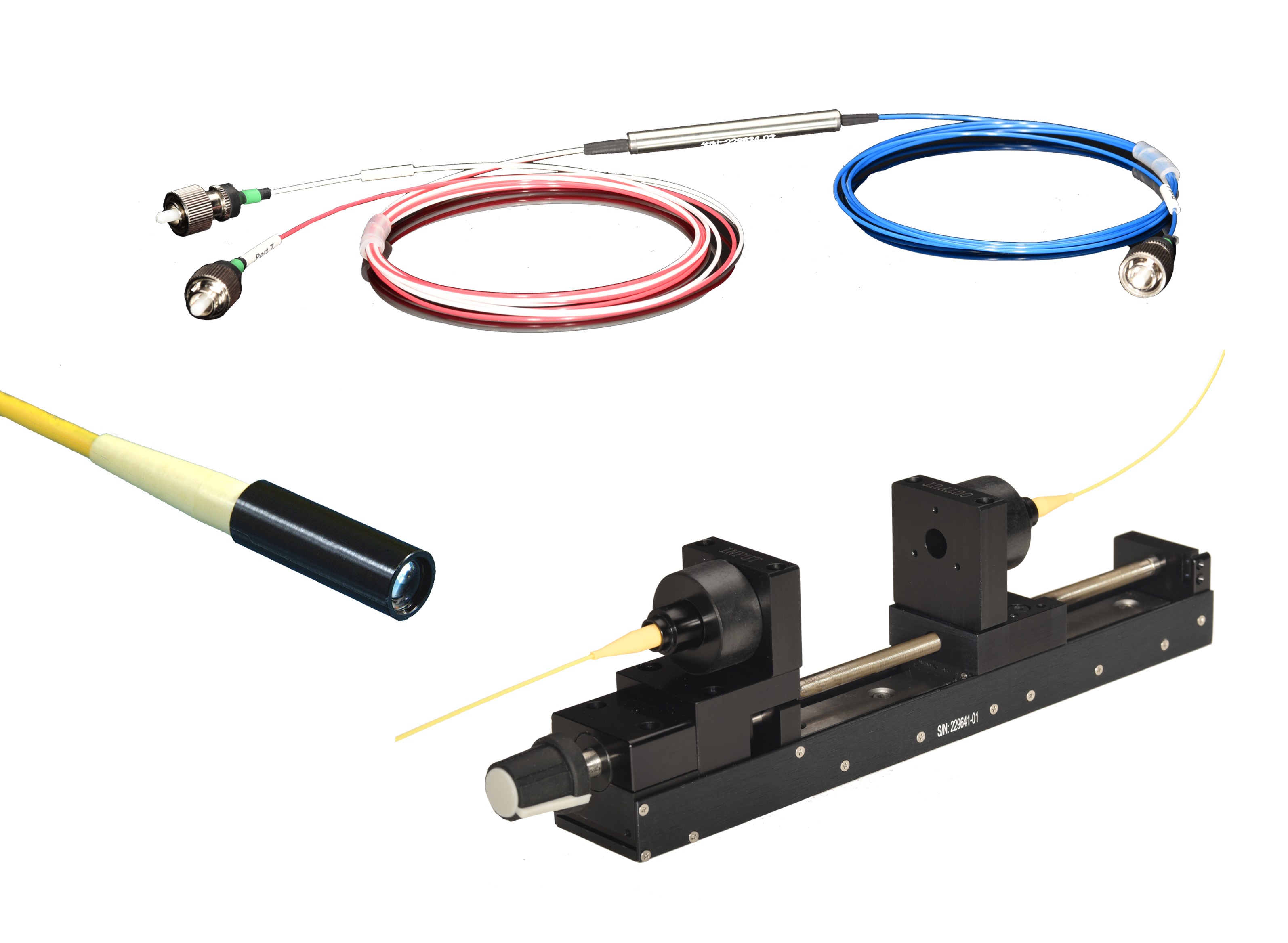 Fiber Optic Light Control Devices