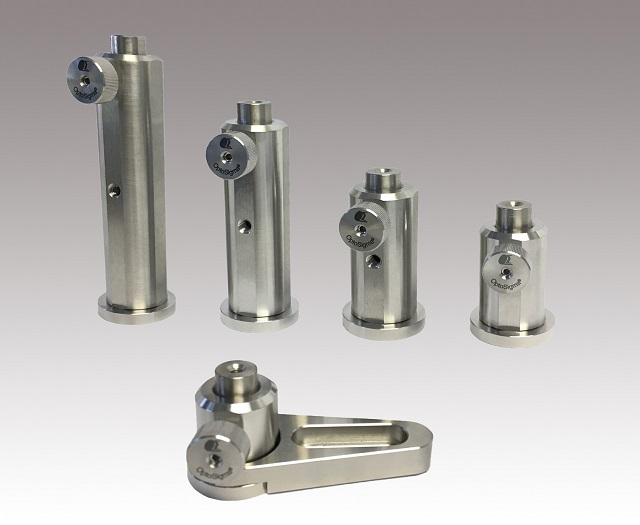 Stainless Steel 12.7-mm Post Holders With Pedestal Base