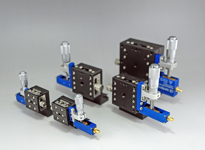 Piezo-Assist Stages, Z-Axis