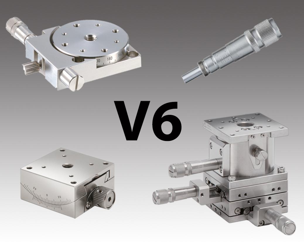 Vacuum Compatible Stages & Actuators