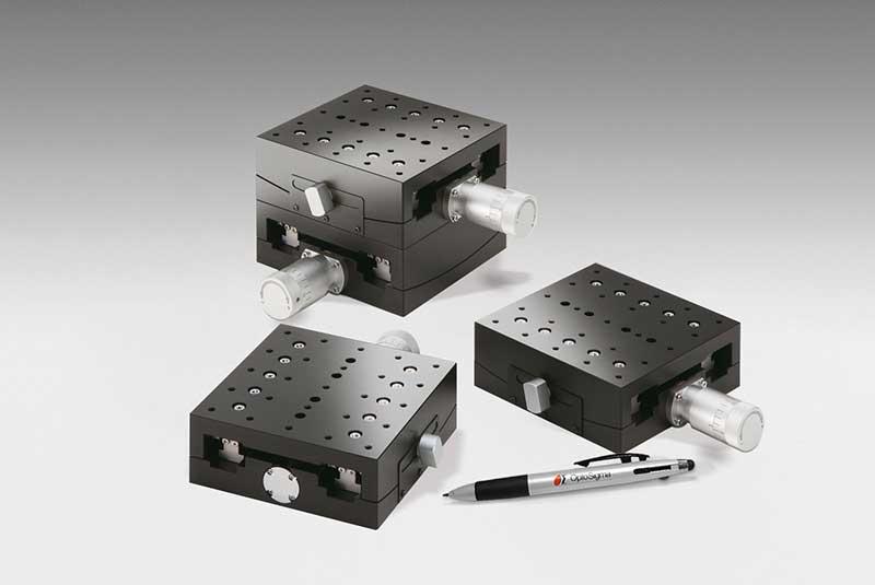 Large Aluminum 1&2-Axis Goniometers