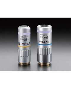 Objective lenses for UV range