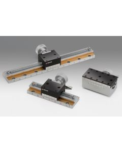 Fast Positioning Rack-and-Pinion Dovetail Stages