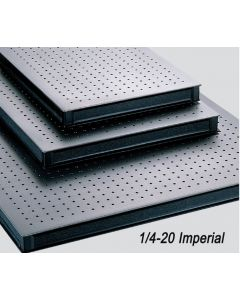 Imperial, 1/4-20 Thread Optical Tabletops and Breadboards