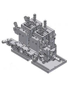 Manual Optical Fiber Alignment Stage Unit