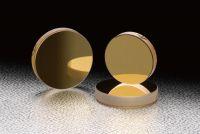 Gold Flat Mirrors (Square)