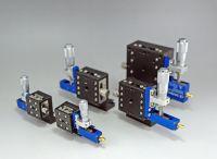 Piezo-Assist, Z-Axis-Stages, Vertical Platform/Horizontal Base
