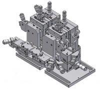 Motorized Optical Fiber Alignment Stage Unit