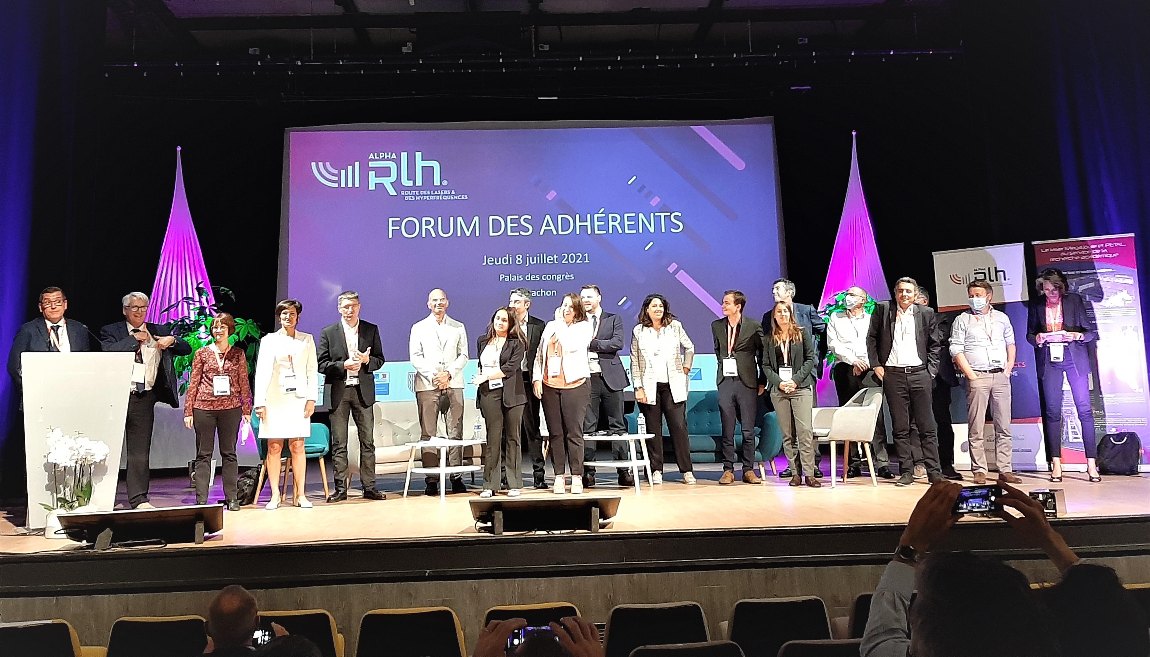 Forum des adhérents ALPHA-RLH 2021