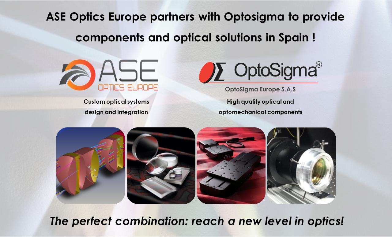 New Partnership : ASE Optics