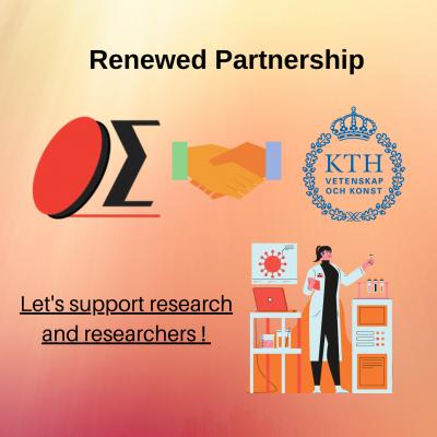 Renewed Partnership with KTH