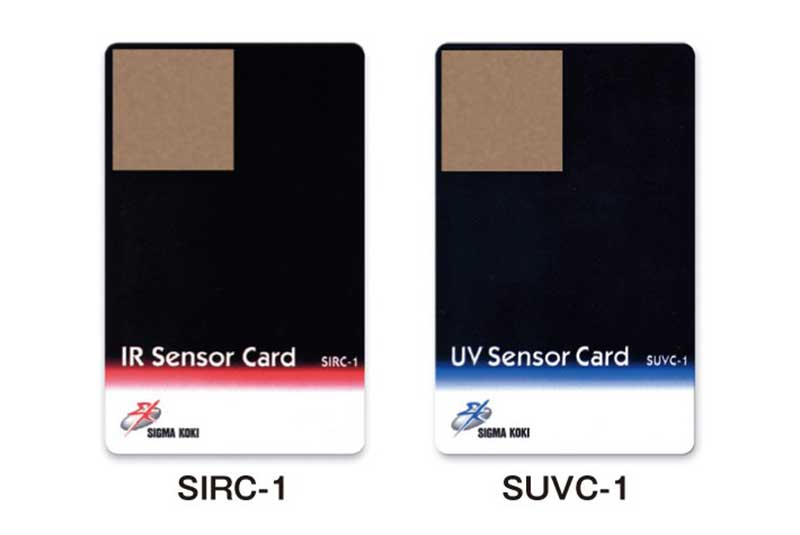 IR - UV sensor cards