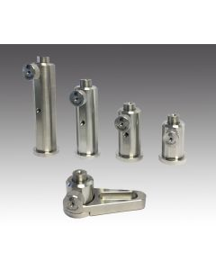 Stainless Steel Post Holders With Pedestal Base