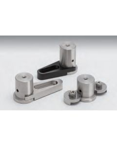 Pedestal clamp Aluminum metric 11.5mm height